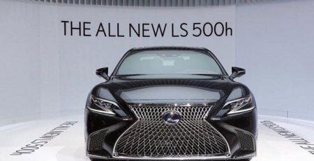 Lexus LS500h 2015