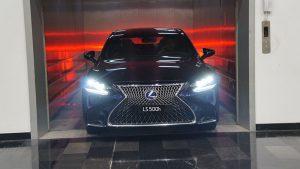 Lexus LS500h cong bo gia